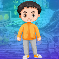 Free online flash games - Games4King Boy Escape From Jungle House