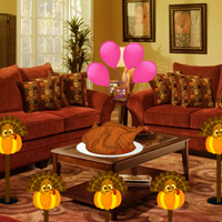Free online flash games - Games2rule Thanksgiving Holiday House Escape