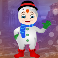 Free online flash games - Games4king Snow Girl Escape game - WowEscape