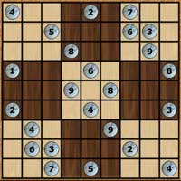 Free online html5 games - Traditional Sudoku DailyaGames game