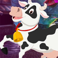 Free online flash games - G4K Beautiful Cow Escape