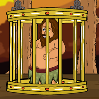 Free online flash games - Games2Jolly Tribal Man Rescue From Cage game - WowEscape