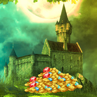 Free online flash games - Big Treasure Castle Escape game - WowEscape