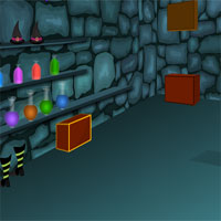 Free online flash games - Witch House Escape 1 game - WowEscape