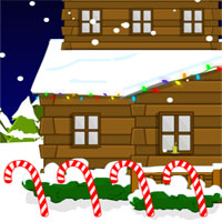 Free online flash games - SD Snowy Night Escape