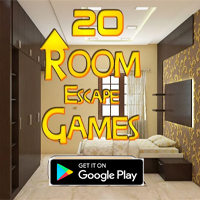 20 Room Escape Games - Mobile App