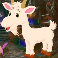 Free online flash games - Games4king Capra Rescue game - WowEscape