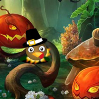 Free online flash games - Thanksgiving Fantasy Fairy Rescue