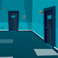 Free online flash games - GenieFunGames Empty Corridor Escape