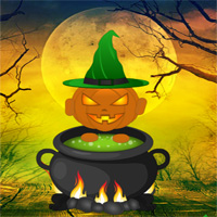 Games2rule Deadly Halloween Forest Escape