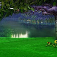 Free online flash games - Escape from Fantasy Green Forest