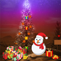 Free online flash games - Big Christmas Gift Land Escape