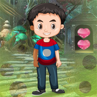 Free online flash games - Games4King Lovely Meek Boy Escape