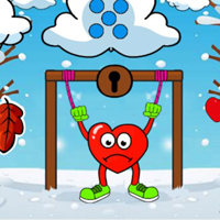Free online html5 escape games -  Locked Heart Escape