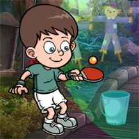 Free online flash games - Games4King Table Tennis Player Escape