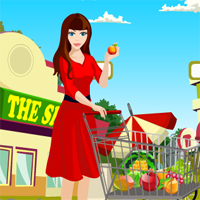 Free online flash games - Games4King Supermarket Escape