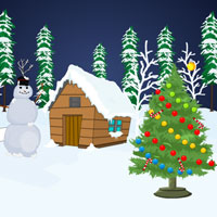 Snow Forest Christmas Escape