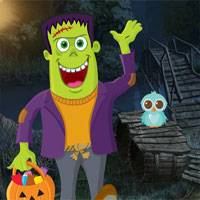 Free online flash games - Games4King Green Zombie Rescue