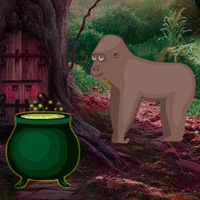 Free online flash games - BigEscapeGames Big Magical Forest Escape game - WowEscape