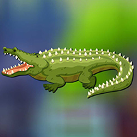 Free online flash games - AVMGames Enormous Crocodile Escape game - WowEscape