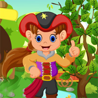 Free online flash games - Games4King Cute Pirate Girl Rescue game - WowEscape