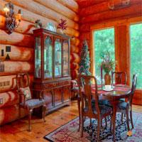 Wooden Living Room Escape EightGames