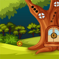 Free online flash games - G2J Bigtree House Escape