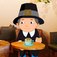 Free online flash games - A Day in Cafe House game - WowEscape