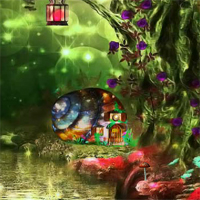 Free online flash games - Fairy Tree House Escape game - WowEscape