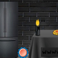 Free online html5 games - G2J Escape From Black Rustic Room game