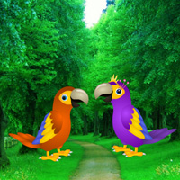 Free online flash games - Macaw Parrot Love Rescue