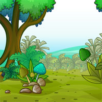 Free online flash games - Sivi Fantasy Forest Good Coin Escape