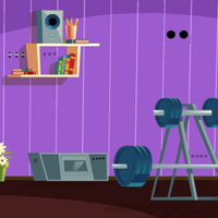 Free online flash games - GFG Private Fitness Room Escape game - WowEscape
