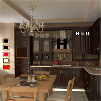 Free online flash games - Hidden247 Luxury Kitchen game - WowEscape