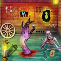 Free online flash games - Top10NewGames Horror Fear House Escape game - WowEscape