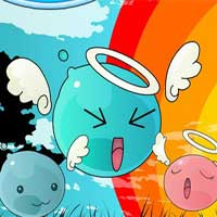 Free online flash games - Bubble Angel game - WowEscape