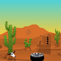 Desert car escape  Ajazgames