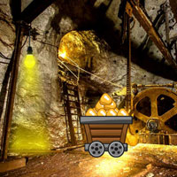 Gold Mine Trapped Escape …