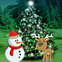 Free online flash games - Christmas Forest Tree Decor Escape