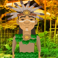 Free online flash games - G2R Tribeman Village Escape