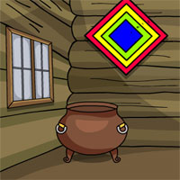 Free online flash games - G2J Escape From Wooden Room game - WowEscape