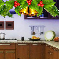 Free online flash games - G2R Christmas Bell House Escape