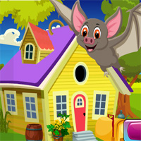 Cute Bat Rescue Games4King