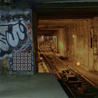 Free online flash games - Underground Subway Station Escape