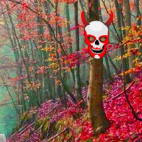 Free online flash games - Scarlet Ghost Forest Escape