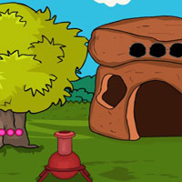 Free online flash games -  G2J Yellow Monster Escape game - WowEscape