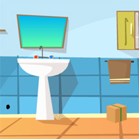 Free online flash games - GFG Bathroom Escape game - WowEscape