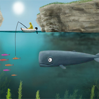 Free online flash games - Deep And Blue game - WowEscape