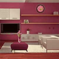 Pink Home Escape GamesClicker