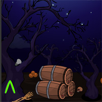 Free online flash games - NsrGames Halloween Party Escape 8